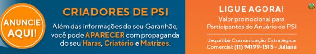 Banner Anúncios no Anuário de Garanhões