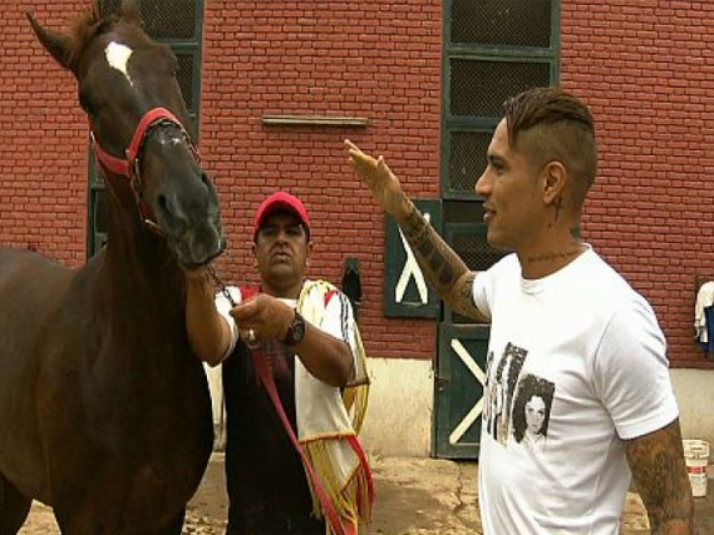 SporTV exibe matéria sobre o lado turfista de Paolo Guerrero