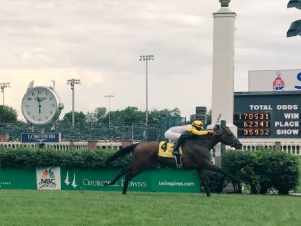 Em forte arremate, Some In Tieme brilha no Louisville Handicap (gr.III)